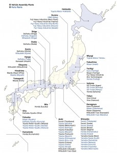Car Factories in Japan