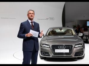 Der neue Audi A7 Sportback auf der Weltpremiere in Muenchen