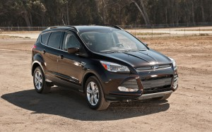 The 2013 Ford Escape, one of the vehicles being recalled.