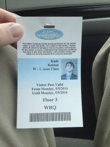 Ford Security Pass